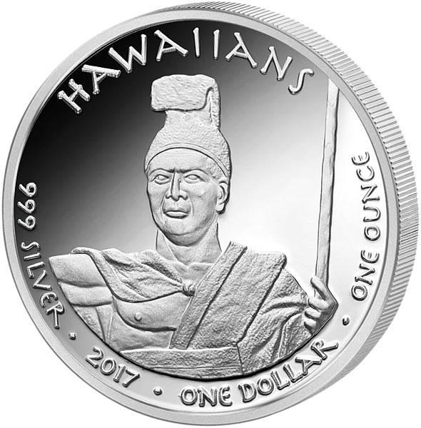 1 Dollar USA Native State Dollar Hawaiians Mönchsrobbe Hawaii
