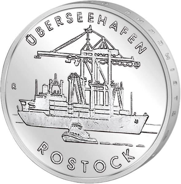 5 Mark Überseehafen Rostock