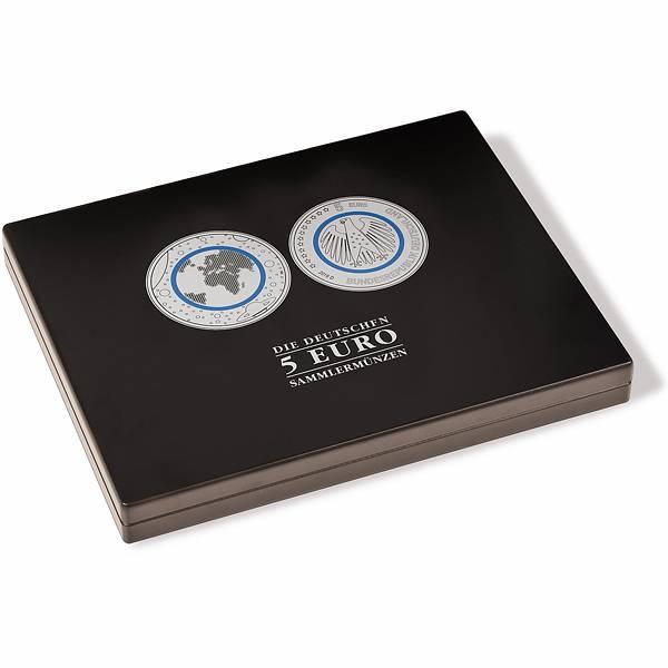 Münzkasette für 30 Deutsche 5-Euro-Münzen