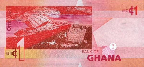 1 Cedi Ghana The Big Six 2015