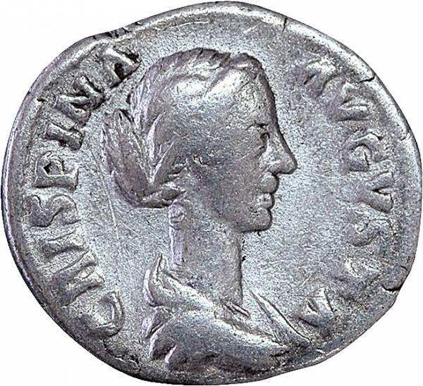 Denar Rom Kaiserin Crispina