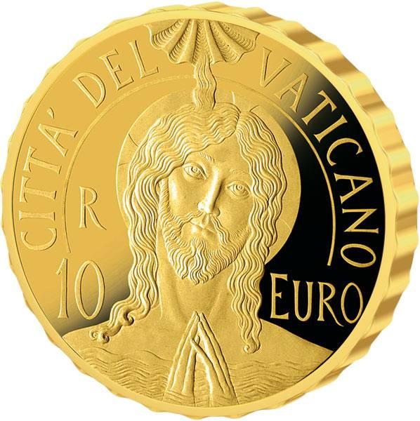 10 Euro Vatikan Die Taufe MMXVII 2017