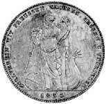 Geschichtstaler Ludwig I. Zollverein mit Preussen Sachsen usw. 1833 vorzüglich