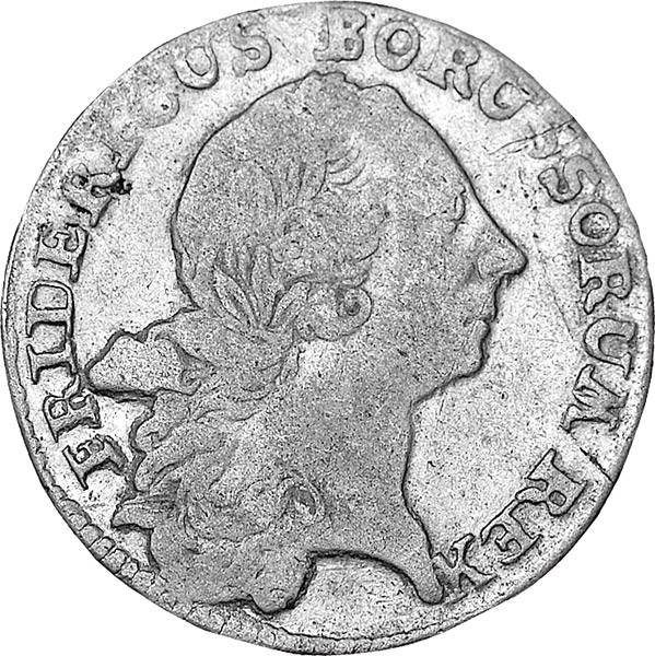 12 Taler Friedrich II. 1764-1772 ss-vz