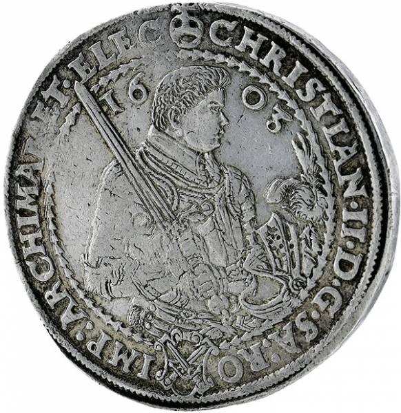 Taler Sachsen Christian II.