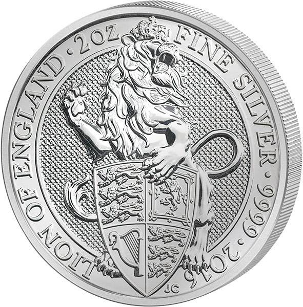 2 Unzen Großbritannien Der Englische Löwe