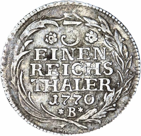 1/3 Taler Brandenburg-Preußen König Friedrich II. der Große 1764-1774 sehr schön