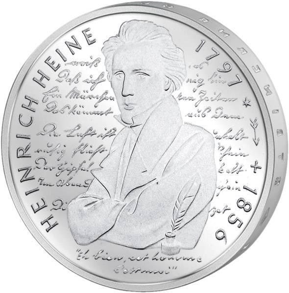 10 DM Heinrich Heine