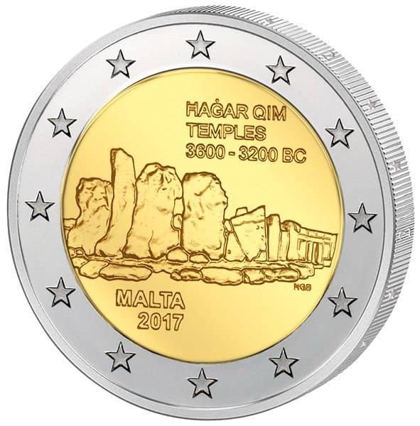 2 Euro Malta Hagar Qim 2017