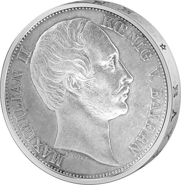 Vereinstaler Bayern König Maximilian II.