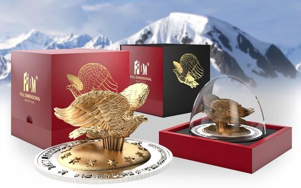1.000 Francs Ruanda Eagle 2016