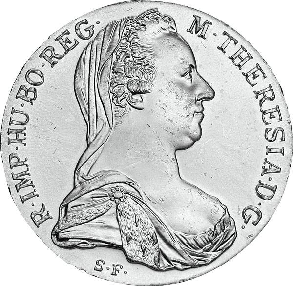 Konventionstaler Maria Theresia NP 1780 vz-st