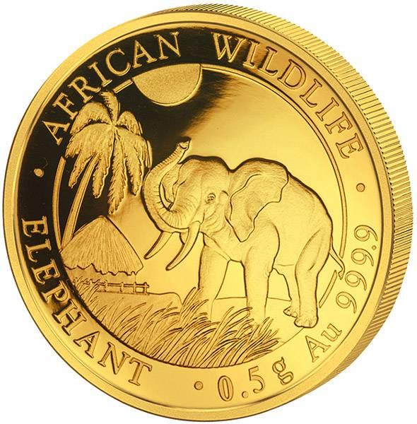 20 Shillings Somalia Elefant 2017