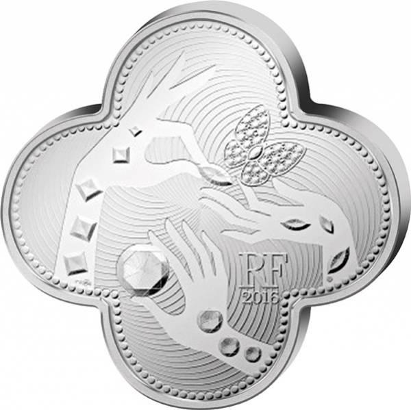 10 Euro Frankreich 110 Jahre Van Cleef und Arpels