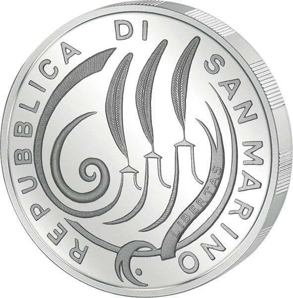 10 Euro San Marino 10 Jahre Wirtschafts- und Währungsunion 2009