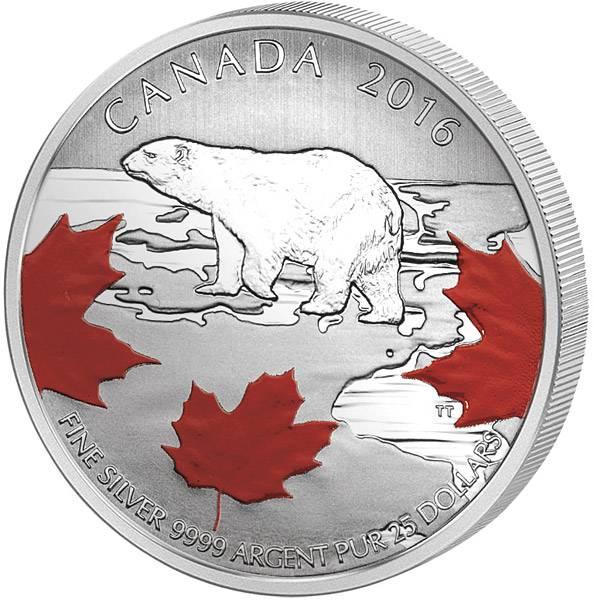 25 Dollars Kanada Wahrer Norden