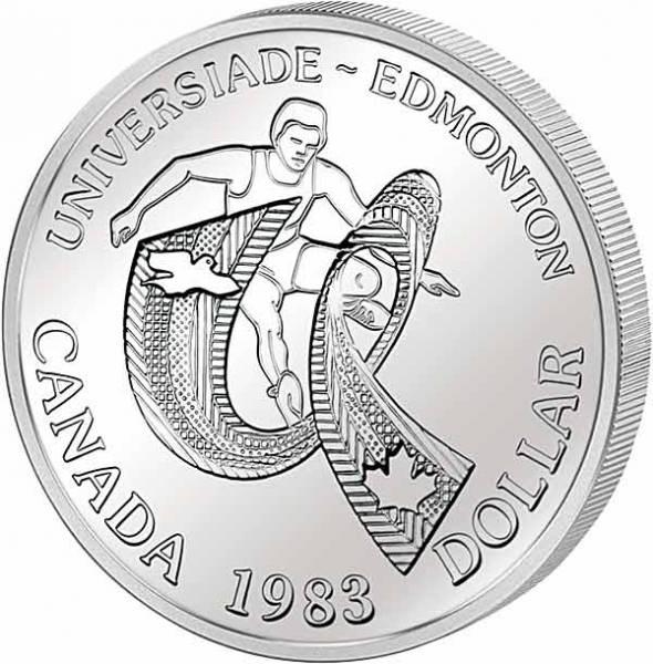 1 Dollar Kanada Universiade Edmonton