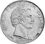 Geschichtstaler Ludwig I. Regierungsantritt 1825 ss - vz