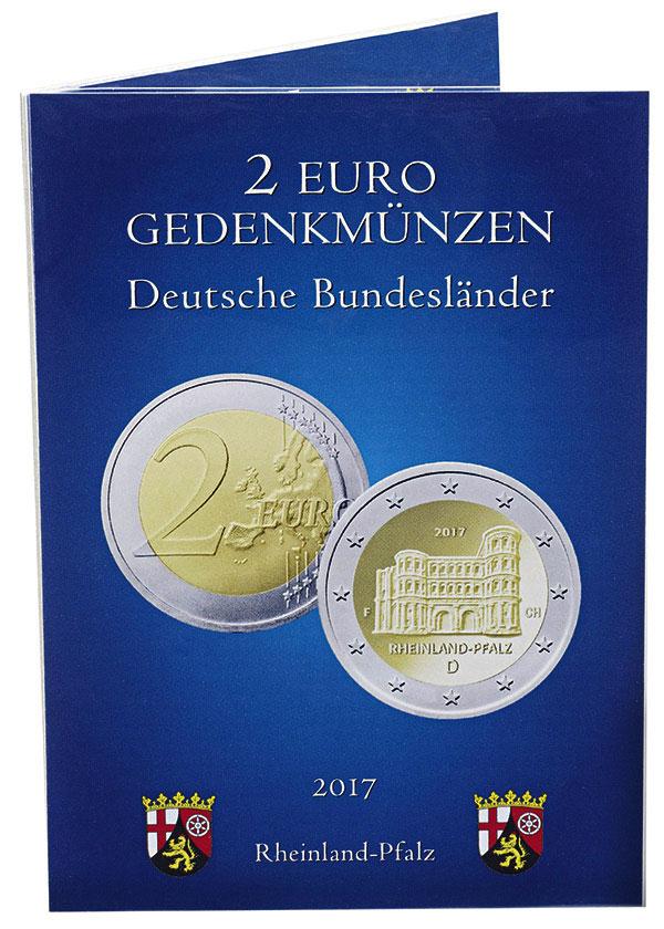 Sammelkarte Für 2 Euro Gedenkmünzen Deutschland Münz Alben
