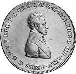 Konventionstaler Reuß-Obergreiz Heinrich XIII. 1807-12 ss-vz
