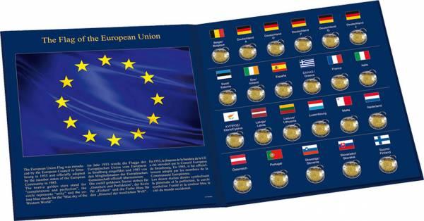 Eindrück Münzalben für 2 Euro Gemeinschaftsausgabe 2015