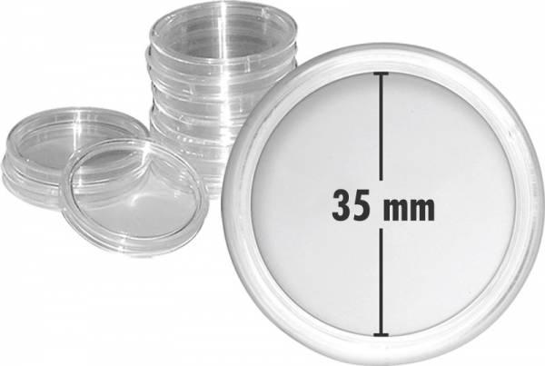 Münzkapseln Innendurchmesser 35 mm