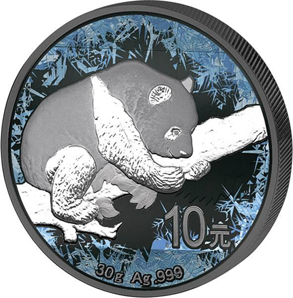 10 Yuan China Deep Frozen Edition Panda