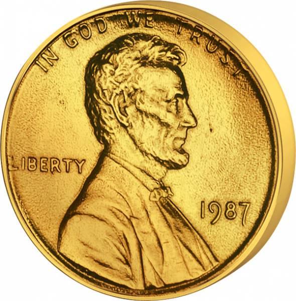 1 Cent  USA Lincoln 1972-2000  ss-vz