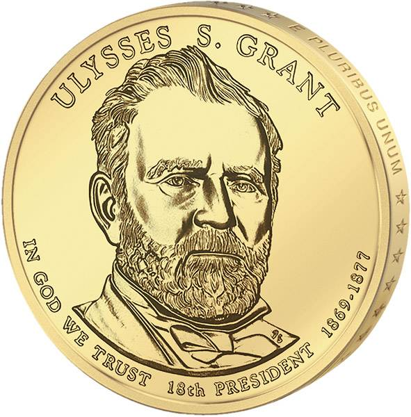 1 Dollar USA Ulysses S. Grant 2011 Stempelglanz