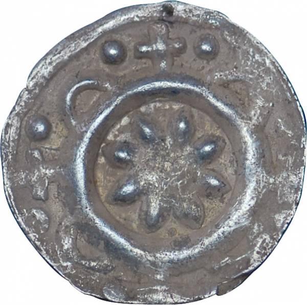 Pfennig Bamberg Bischof Arnold von Solms 1286-1296 Sehr schön