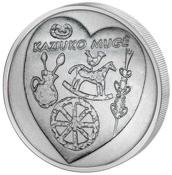 1,5 Euro Litauen Kaziukas Fair 2017