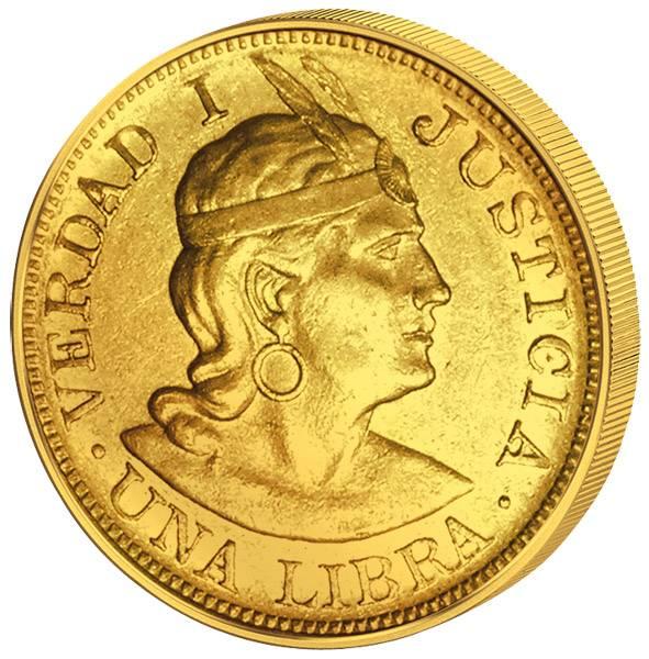1 Libra Peru Manco Cápac 1898-1967