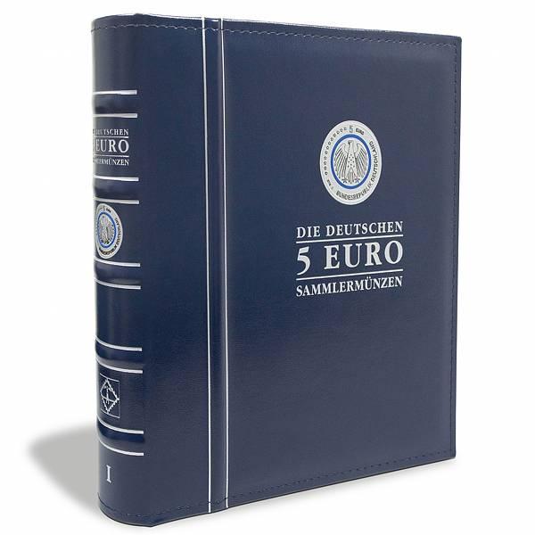Münzalbum für die deutschen 5-Euro-Münzen