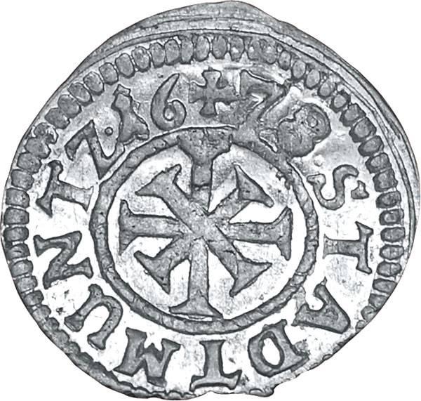 1 Kreuzer Freie Reichsstadt Nürnberg 1678 prägefrisch