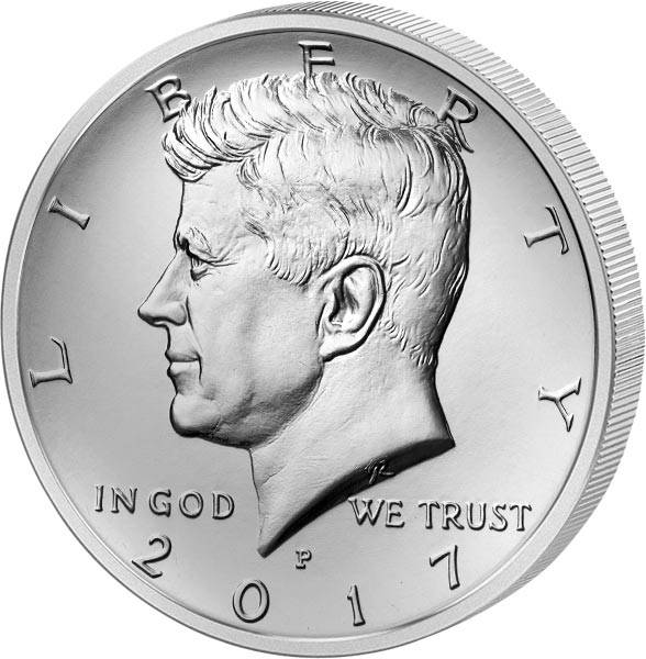 1/2 Dollar USA John F. Kennedy 2017