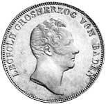 Taler Kronentaler Leopold 1832  Vorzüglich
