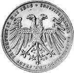 Taler Doppelgulden Friedrich Wilhelm 1849  vorzüglich