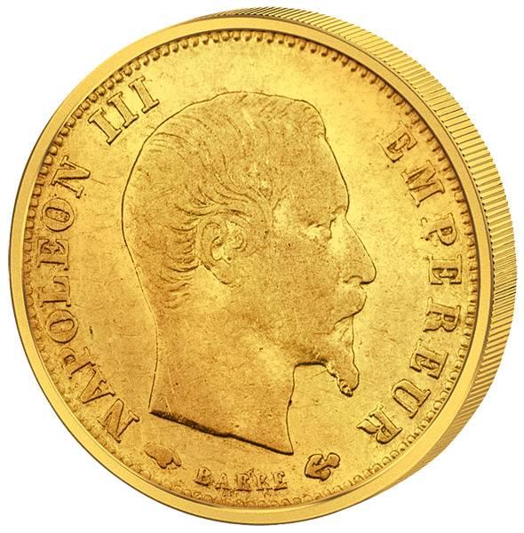 Napoleon III. ohne Kranz