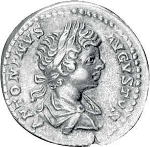Denar Kaiser Caracalla 196-217 n.Chr. Sehr schön
