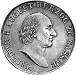 Taler Konventionstaler Friedrich August 1810-1815 ss-vz