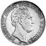 Taler Friedrich August 1839-1844 Sehr schön