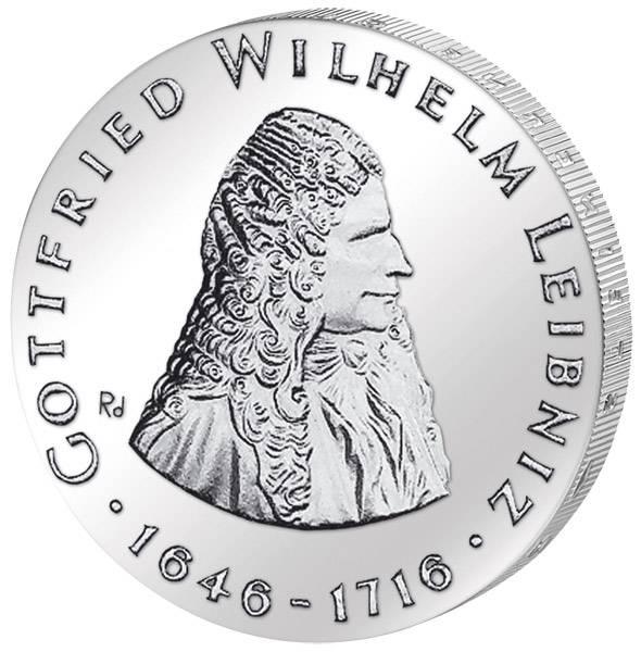 20 Mark  Gottfried Wilhelm Leibniz 1966 A vorzüglich