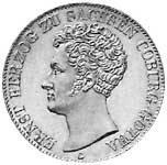 Taler Ernst 1841-1842 Sehr schön
