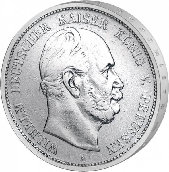 5 Mark Preußen Kaiser Wilhelm I. 1874-1876 s-ss