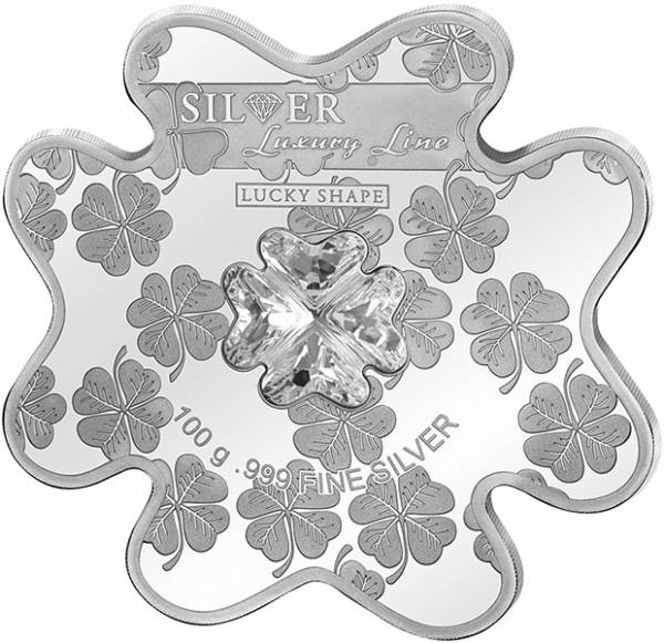 20 Dollars Cook-Inseln Luxury Line Lucky Shape Coin