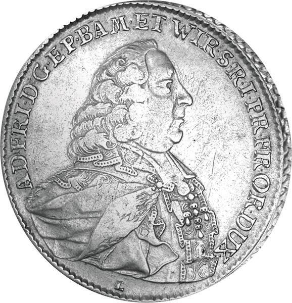 Madonnentaler Würzburg Bischof Adam Friedrich von Seinsheim  sehr schön