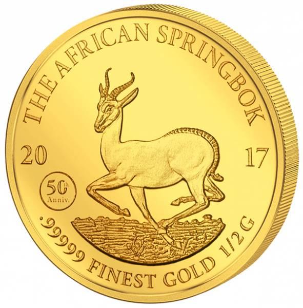 1.000 Francs Gabun Springbock 2017