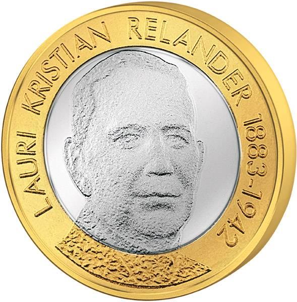 5 Euro Finnland L. K. Relander