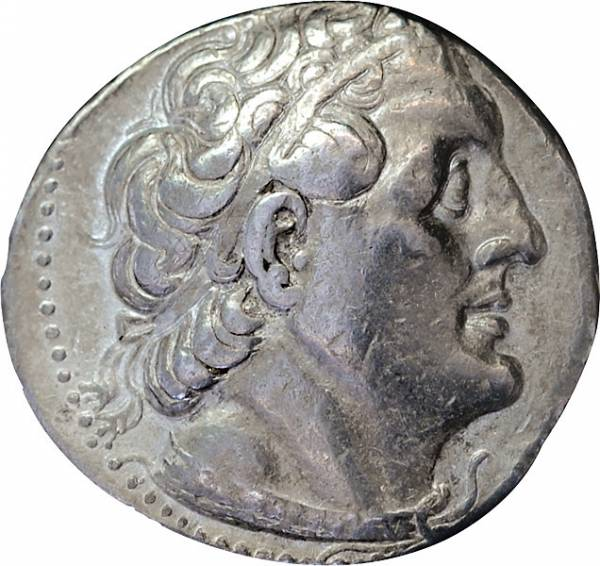 Tetradrachme Ptolemäerreich Ägypten Ptolemaios II. Philadelphos