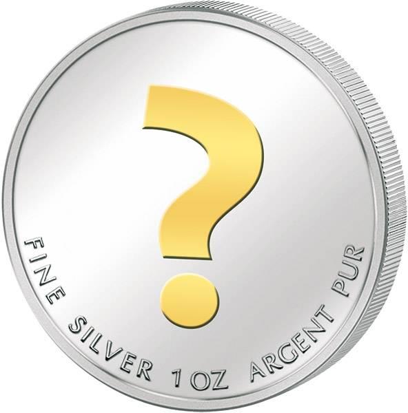 1 Silber-Unze mit hochwertiger Veredelung unserer Wahl